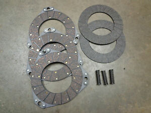 John Deere 80 820 830 Clutch Double Sided Disc floating Disc And Spring Set