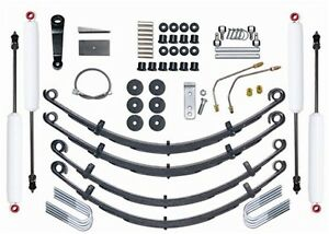 Rubicon Express Re5515 Suspension Lift Kit W Shocks Fits 87 95 Wrangler Yj