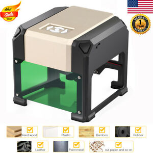 3000mw Desktop Laser Engraving Machine Diy Marking Printer Engraver Cutter Usb