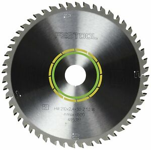 Festool 495381 Fine Tooth Cross cut Saw Blade For Ts 75 Plunge Cut Saw 52 Tooth