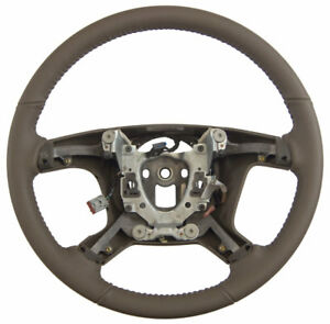 2007 Silverado Suburban Escalade Cashmere Steering Wheel New 15917927 15854503