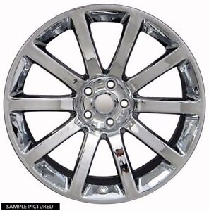 4 New 20 Wheels Rims For Dodge Challenger Charger Srt Chrysler 300 Magnum 3828