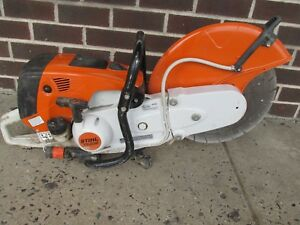 Stihl Ts 800 16 Gas Concrete Cut off Saw W Concrete Blade Fully Tested