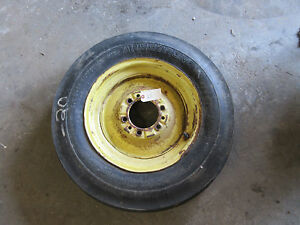 John Deere 520 530 620 630 70 720 730 Front Rim Jd1290r With Tire 5