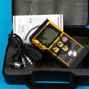 Tm130d Digital Ultrasonic Wall Thickness Gauge Tester Meter Fo Metal Steel 225mm