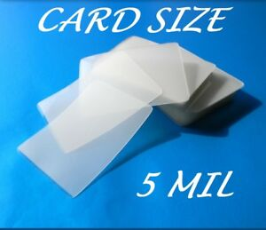 Card Size Laminating Pouches Laminator Sheets 100 2 5 8 X 3 7 8 5 Mil Quality