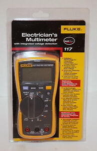 Fluke 117 True Rms Electrician s Digital Multimeter W Non Contact Voltage New