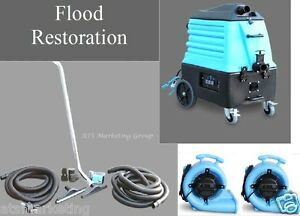 Restoration Extractor Carpet Cleaning Pack