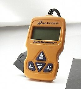 Actron Autoscanner Can Obd Ii Scan Tool Cp9575 Live Data Trilingual Reset Codes