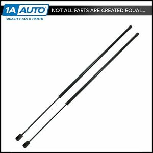 Front Hood Lift Supports Struts Shocks Pair Set Of 2 Lh Rh For Buick Lesabre