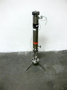 Varian Load Lock L l4001wj Stainless Steel Flash Chromatography Column