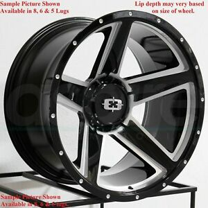 4 New 20 Wheels Rims For Chevrolet Suburban 1500 Tahoe Chevy 6862