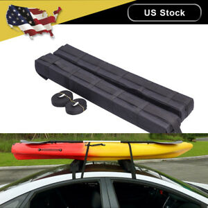 Universal Roof Top Rack Cargo Carrier Car Suv Van Top Luggage Holder Soft Rack