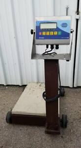 Fairbanks Digital 50lb Rolling Portable Platform Scale Commercial Industrial