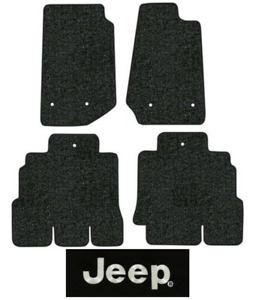 2014 2018 Jeep Wrangler Floor Mats 4pc Cutpile Fits Unlimited