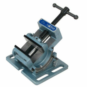Work Bench Clamp Tool Adjustable Angle Drill Press Vise Machine Metal Tapping