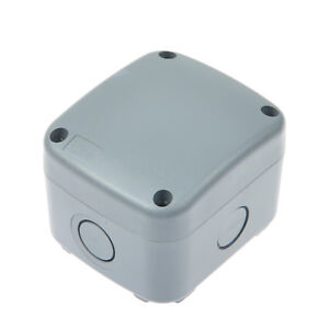Outdoor Dust water proof Electrical Junction Box Connector Enclosure Case Ip66
