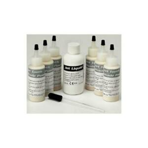 Lang Dental 1493r Jet Tooth Assorted Shade Kit 6 1 6x45g Powder 118 Ml Liquid