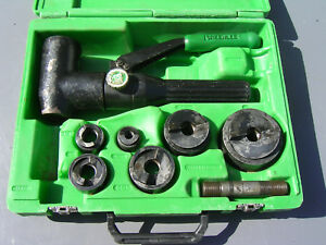 Greenlee 7906sb Quick Draw 90 Hydraulic Punch 1 2 Thru 2 Conduit Size Tool
