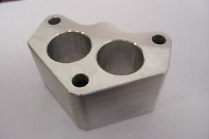 Fits Stromberg 97 48 Ford Holley 94 Intake Manifold Spacer Aluminum Riser 2 A