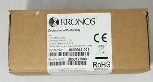 Kronos 9000 9100 Touch Id Plus H3 H4 Biometric Reader 8609042 001 New Sealed