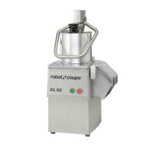 Robot Coupe Cl52e 3 Hp Commercial Food Processor Cl52d