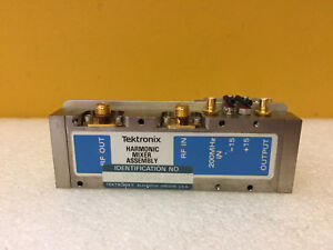 Tektronix 119 1640 01 Harmonic Mixer Assy For 492 490 Spectrum Analyzer Tested