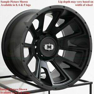 4 New 20 Wheels Rims For Chevrolet Silverado 1500 K 1500 C 2500 K 2500 6866