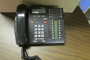 Nortel T7316 Charcoal Phone nt8b27aaba Used Free Shipping