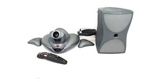 Polycom Vsx 7000 Ntsc Video Conference System W Subwoofer 2 Mic Pods Remote
