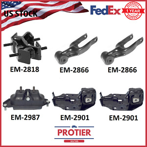Engine Motor Trans Mount Set 6 Pcs For 2000 2005 Chevrolet Impala 3 4l