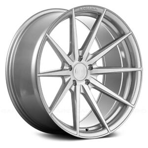 Porsche Cayenne 03 18 Rohana Rf1 Wheels 20x9 45 5x130 Brushed Rims Set Of 4