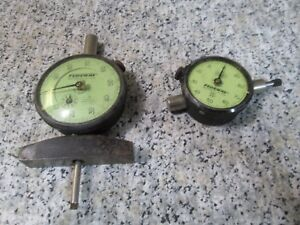 Lot Of 2 Federal Miracle Movement Dial Indicators B81 C81s 001 Graduations