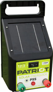 Patriot Ps5 Solar 2 Mile Energizer Electric Fencer Charger Tru Test 817369