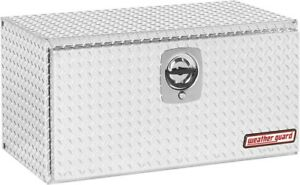 36 62 In Aluminum Compact Underbed Truck Box Tool Storage Keyed Entry Heavy Duty