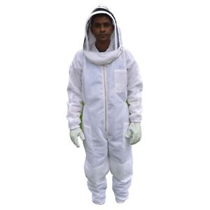 Xl Ventilated Bee Suit Body Comfort 3 Layer Mesh Vented Beekeeper Suit