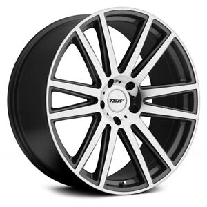 Mercedes Benz Gls63 Amg 17 18 Tsw Gatsby Wheels 22x10 44 5x112 4 Rims Set