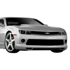 For Chevy Camaro 14 15 Front Bumper Lip Under Air Dam Spoiler Racer Style