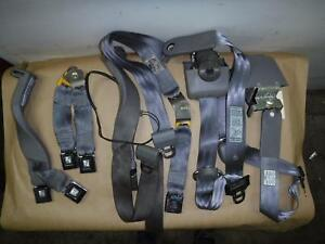 1995 1997 Ford F250 Xlt Extended Cab Rear Seat Belts grey 4x4 Diesel 7 3 Oem
