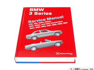 Bentley Bmw E30 3 Series 1984 1991 Service Manual B390