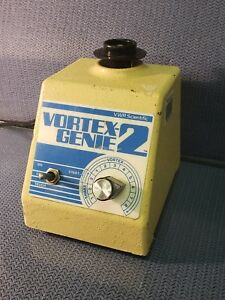 Vwr Scientific Vortex Genie2 Model G 560 With Single tube Holder