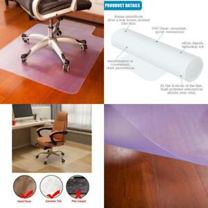 Mat Chair Low Pile Rug Anti Slip Hard Floor Computer Desk Polycarbonate Home New