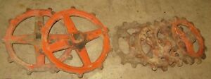 Lot Of Used Allis Chalmers Planter Drive Gears
