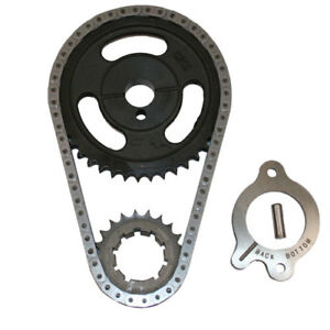 Ford Racing 302 351w Double Roller Timing Chain Set Cast Iron Gear M6268a30a 289