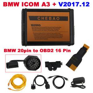 V2017 12 Bmw Icom A3 Professional Diagnostic Tool Get Free Bmw 20pin Cable