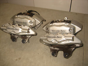 Mercedes W215 Brembo Fronts Rears Brake Calipers Cl600 Cl500 Cl55 Amg 00 06