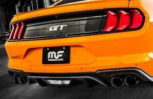 Magnaflow 2018 2019 Ford Mustang Gt 5 0l V8 Competition Catback Exhaust Black