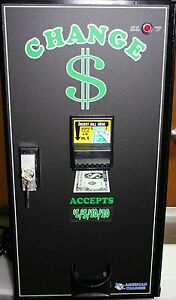 American Changer Ac2001 Bill Changer Many Extra Options Must See