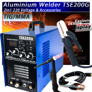 Igbt Inverter Ac dc Tig mma Aluminum Welder Tse200g New Generation Of Wsme 200