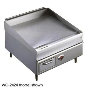 Wells Wg 3048g 48 Thermostatic Gas Griddle